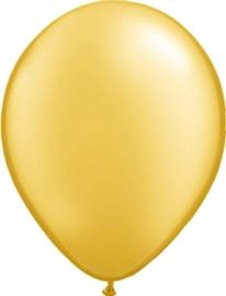 Ballonnen 100st. Goud metallic