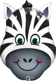 Folieballon shape zebra