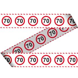 Markeerlint 70 jaar verkeersborden 15m