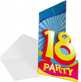 Uitnodiging Leeftijden Swirls 18 OP=OP