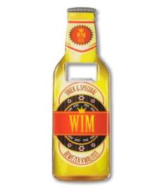 Magneet fles opener - Wim