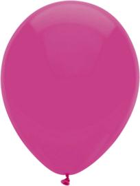Ballonnen 10st. Donker Roze standaard