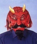Masker rubber duivel