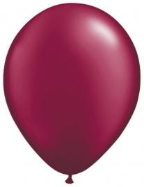 Ballonnen 10st. Burgundy metallic