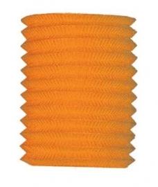 Lampion 16cm oranje