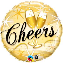 Folieballon Cheers starbusts