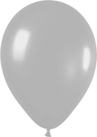 Ballonnen 10st. Zilver metallic