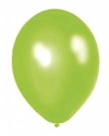 Ballonnen 100st. Appelgroen metallic