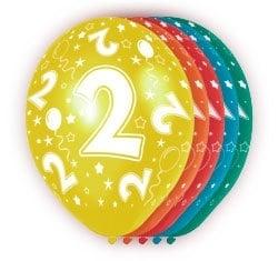 Ballonnen 5st.  2 jaar HE 30cm