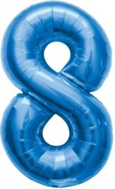 Folieballon 86cm Blue 8