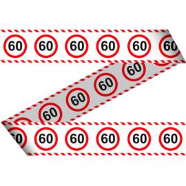 Markeerlint 60 jaar verkeersborden 15m