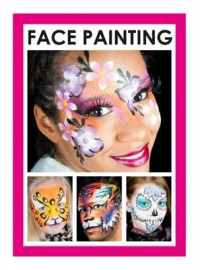 Boek grimas face painting 52 pag.