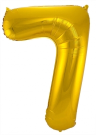 Folieballon 34 inch Gold 7