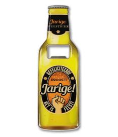 Magneet fles opener - Jarige