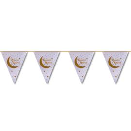Vlaggenlijn Ramadan Mubarak (6m)