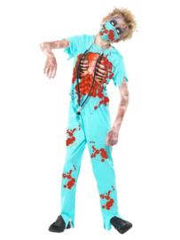 Chirurg zombie jongen mt. L (145-158)
