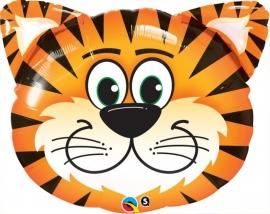 Folieballon shape tijger