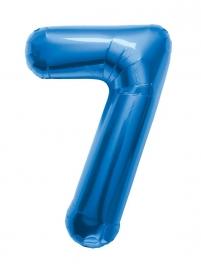 Folieballon 86cm Blue 7