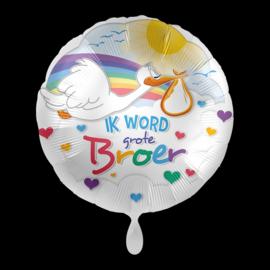 Folieballon Ik word grote broer