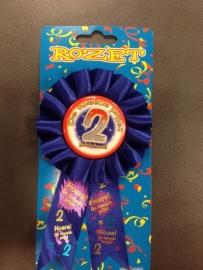 Rozet 2e prijs
