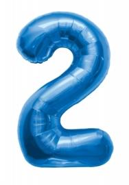 Folieballon 86cm Blue 2