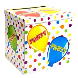Enveloppen box verjaardag
