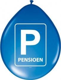 Ballonnen Pensioen 8st.