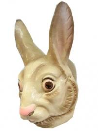 Masker plastic konijn/haas volwassen
