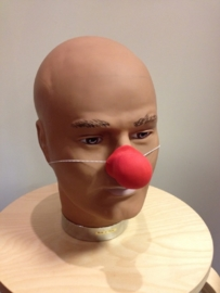 Neus clown latex knobbel