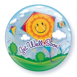 22In Bubble Get Well soon Kite