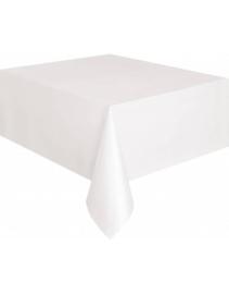 Tafelkleed plastic wit 137x274cm