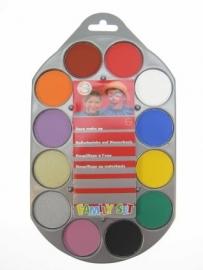 Schminkpalet family 12 kleuren