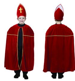 Sinterklaas kostuum kind one size
