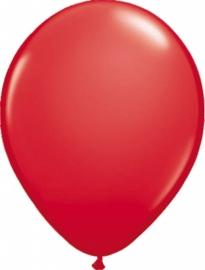 Ballonnen 100st. Rood metallic