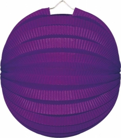 Lampion rond cyclaam 23cm