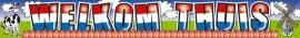 Banner Welkom Thuis 5x1Mtr