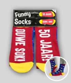 Funny socks - 50 jaar