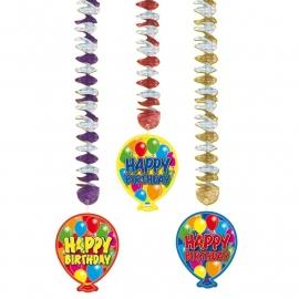 Hangdeco Balloons Happy Bday / 3st.