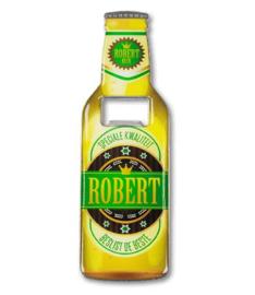 Magneet fles opener - Robert