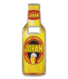 Magneet fles opener - Johan