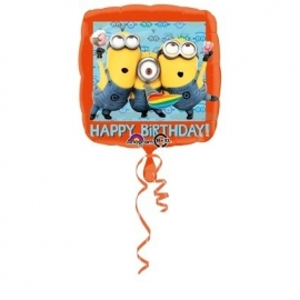 Folieballon Minions Happy Birthday