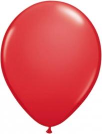 Ballonnen 10st. Rood metallic