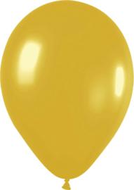 Ballonnen 10st. Goud metallic