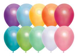 Ballonnen 50st. Assorti metallic