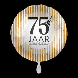 Folieballon 75 jaar