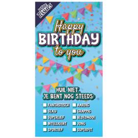 Tissuebox, Happy Birthday