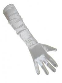 Gala handschoenen wit