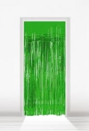 Deurgordijn folie groen lxb = 2x1m