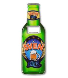Magneet fles opener - Sven