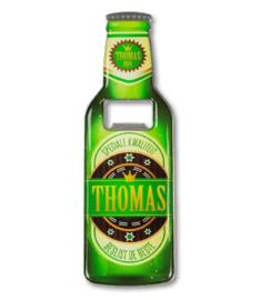 Magneet fles opener - Thomas